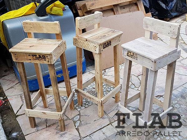 Sgabello alto pallet come realizzare uno sgabello alto in legno
